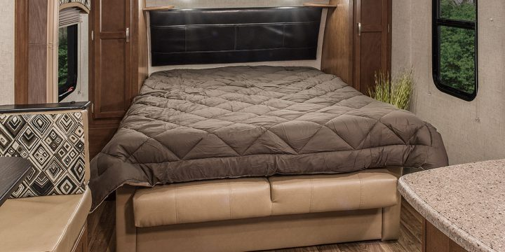 Making RV bedding more comfortable